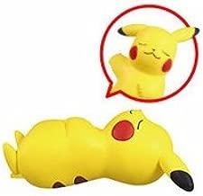 Bandai Pokemon Sun Moon 2 Oyasumi Friends Figure~Goodnight Friends~Sleep Pikachu