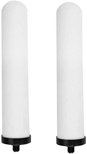 Muss 10-Zoll-Keramik-Filterpatrone waschbar Aktivkohlewasserfilterersatz Universal-Duschsystem Badezimmer dljyy