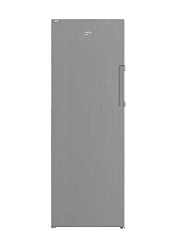 Beko RFNE290T45XPN freistehender Gefrierschrank/No Frost/innenliegendes Display/ 7 Gefrierfächer mit transparenter Front, davon 5 Gefrierschubladen