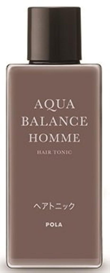 崇拝するギャラントリーホットAQUA POLA アクアバランス オム(AQUA BALANCE HOMME) ヘアトニック 養毛料 1L 業務用サイズ 詰替え 200mlボトルx1本