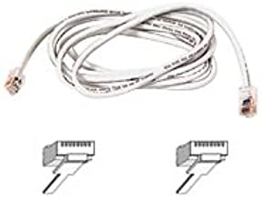 Belkin A3L791-07-WHT 7ft 10/100BT CAT5E Patch RJ45M/RJ45M White