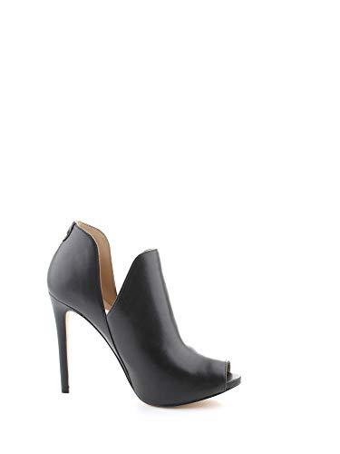 Luxury Fashion | Guess Dames FL5AUBLEA09BLACK Zwart Leer Enkellaarzen | Lente-zomer 20