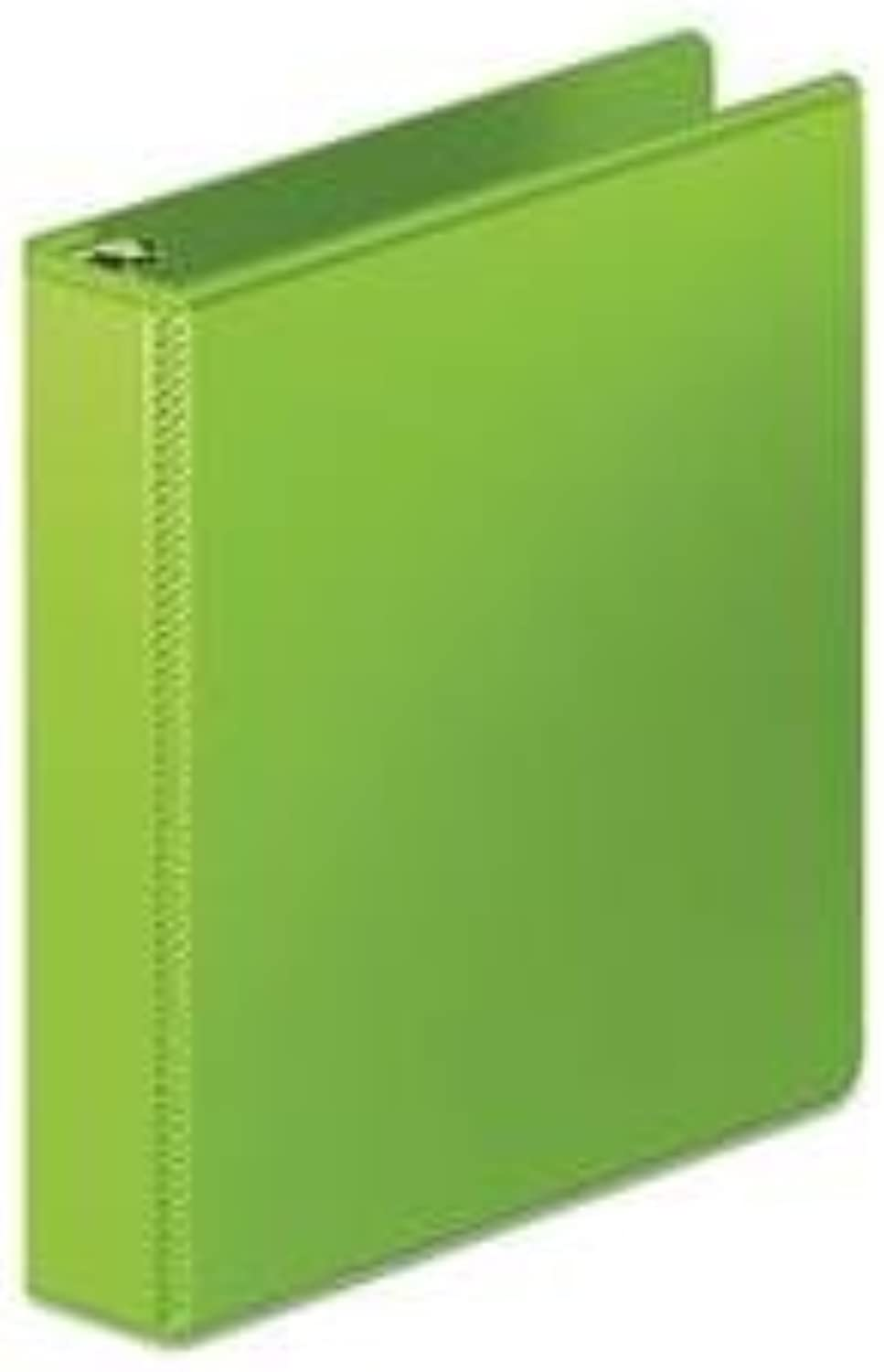 Heavy Duty D-Ring View Binder W extra Durable Hinge, 3  Capacity, Chartreuse By  Wilson Jones