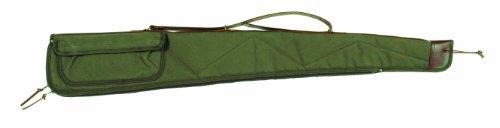 Bob Allen BA2100 Canvas Shotgun Case, Green, 52'