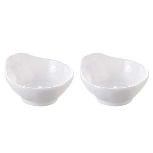 Demarkt 2 stuks saus gerechten bord plaat keuken kruiden gerechten plastic azijn komkommers kleine schaal gebruiksvoorwerpen dip bord snacks Dish