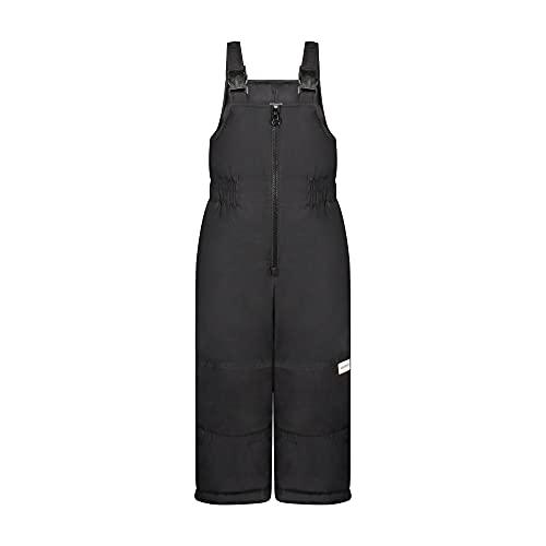Carter's Boys' Snow Bib Ski Pants Snowsuit, Solid Black, 7