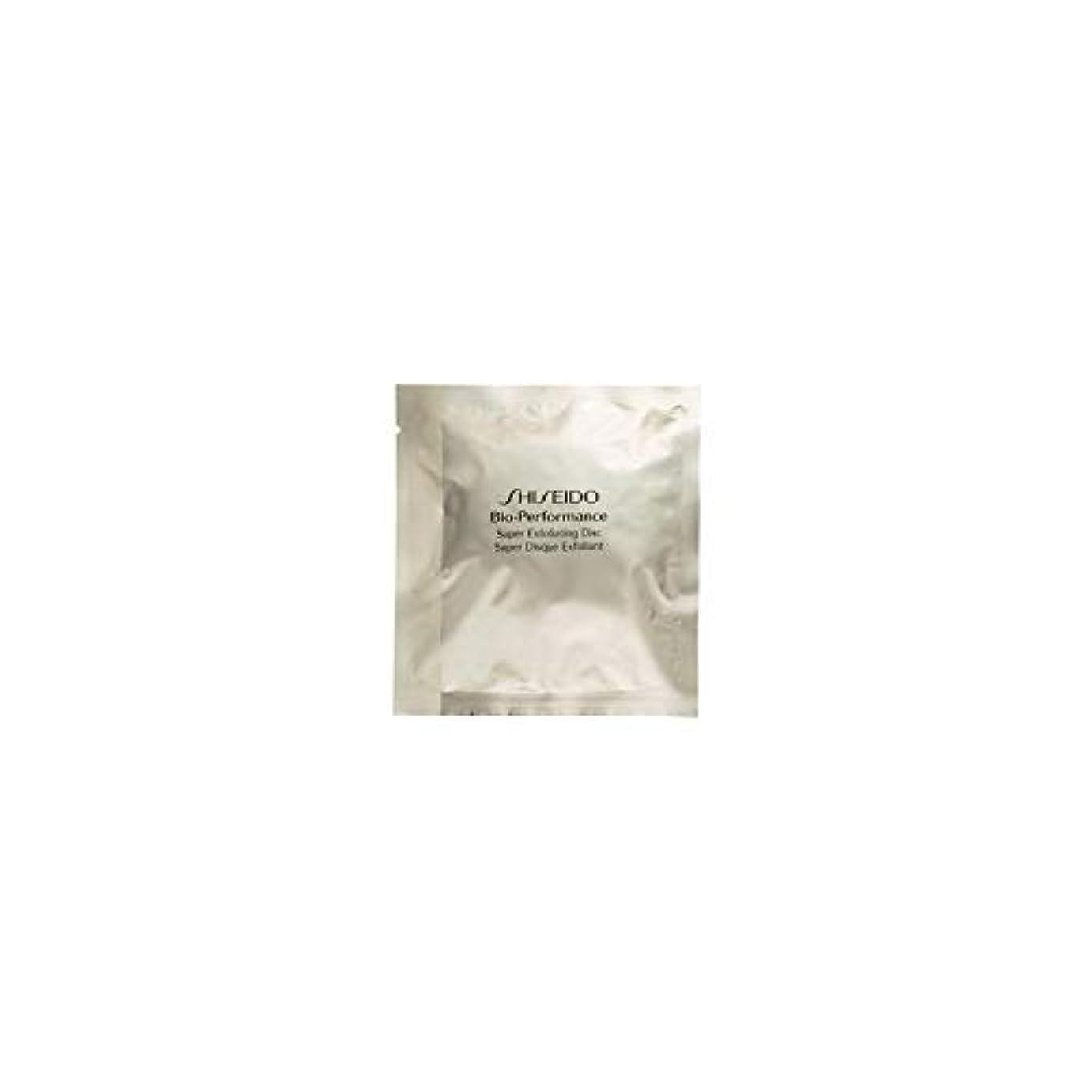正しいビスケットドル[Shiseido] 資生堂バイオパフォーマンススーパー角質除去ディスク×8 - Shiseido Bioperformance Super Exfoliating Discs X 8 [並行輸入品]