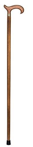 novolife nl-30010 wandelstok béquillon hout
