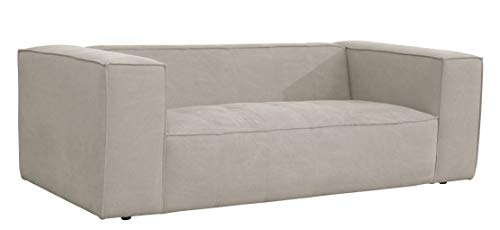 "Amazon Brand – Rivet Thomas Modern Upholstered Sofa Couch, 81.5""W, Grey"