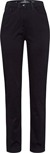 Raphaela by Brax Damen Style Laura Touch Super Dynamic Cotton Pigment Hose, Navy, W(Herstellergröße: 34)