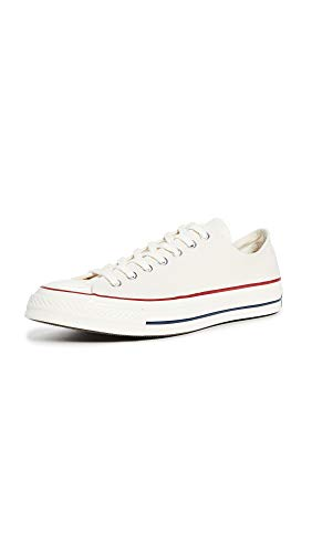 Converse Men's Chuck Taylor All Star '70s Sneakers, Parchment, Off White, White, 13 Medium US