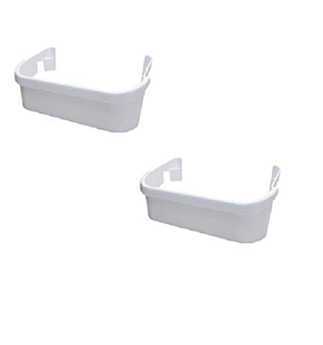 Edgewater Parts 240351601, AP2115974, PS430027 Set Of 2 Door Bins Compatible With Frigidaire Refrigerator(Freezer Side Only)