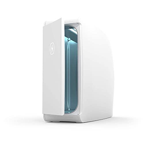 HomeSoap UV Sanitizer   Patented & Clinically Proven 360 Degree UV Light Disinfector   (White)