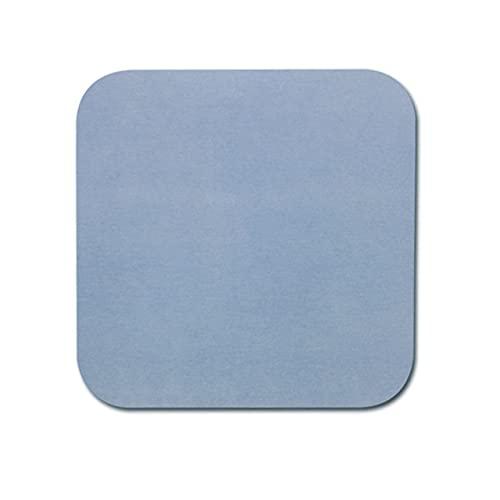 BSDIHRIWEJFHSIE Nuevo Soporte de jabón Almohadilla de diatomita de Secado rápido Absorción de Agua Desodorante Antideslizante Estera de la Taza Estera de jabón Cocina portátil Baño Jabonera-Azul