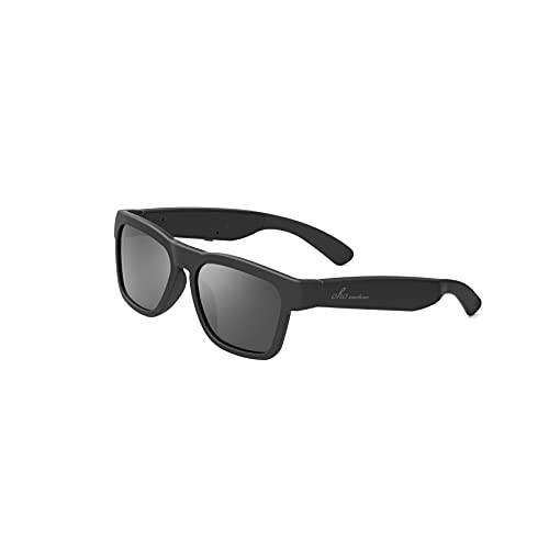 amazon echo frames review listen to these specs OhO sunshine Audio Sunglasses, Voice Control and Open Ear Style Listen Music and Calls with Volumn UP and Down, Bluetooth 5.0 Smart Glasses and IP44 Waterproof Feature for Outdoor Sports