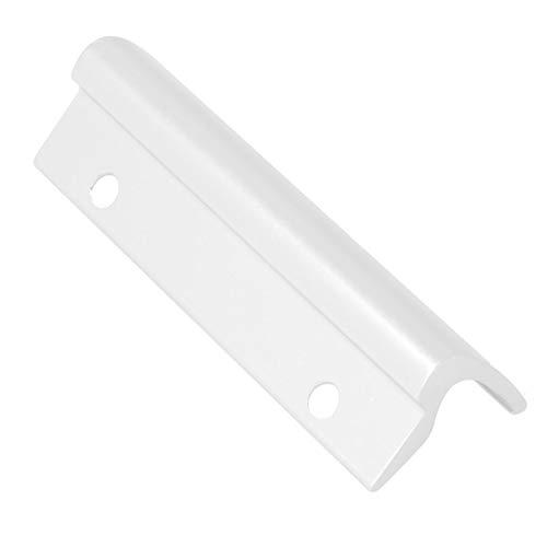 Aluminium Glasfalzbalkontürgriff/Terrassentürgriff/Ziehgriff/Glasfalzgriff - weiß RAL 9016