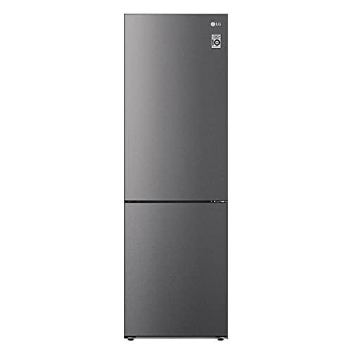 LG GBP61DSPGC Frigorifero Combinato Total No Frost con Congelatore, 341 L, 35 dB, Compressore Smart Inverter, Fresh Converter - Frigo con Freezer e Display LED Interno