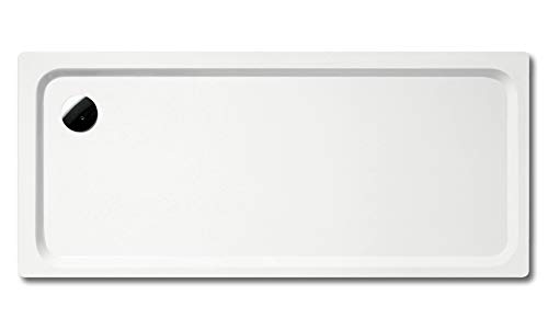 Kaldewei Superplan XXL 412-2 100x140cm mit Styroporträger, Farbe: Alpinweiß Matt mit Perl-Effekt