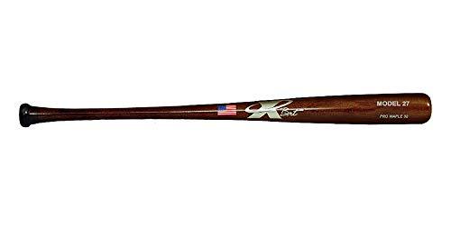 X BAT Pro Model Wood Baseball Bats (Pro Model 27 | Best Balanced, 33 Inch)