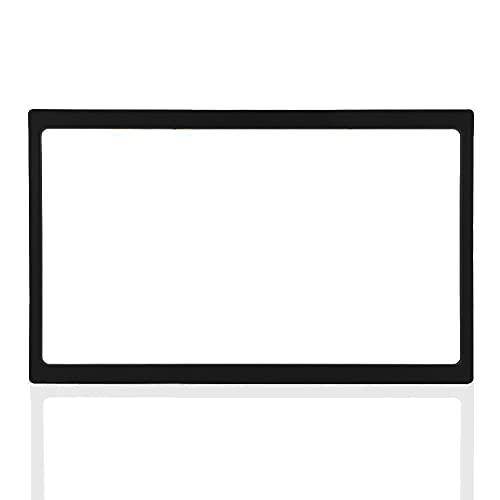 Reminnbor Autoradio con Cornice per Autoradio, 2 DIN Fascia per Auto Fascia per Montaggio su Cruscotto Dvd Audio Frame per Cornice Mascherina Universale Autoradio 178 x 102 mm