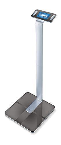 Beurer BF 1000 Pèse - Personne Impédancemètre Connecté   Balance de Précision avec Application   Mesure de la Masse Adipeuse Viscérale   Analyse des Différentes Parties du Corps