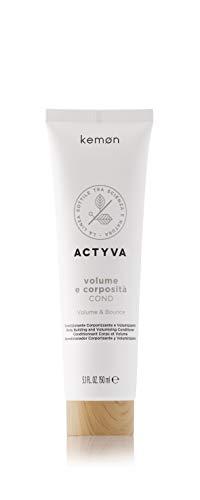 Kemon Actyva Volume e Corposità Conditioner – pflegende Haar-Spülung für feines Haar, Haar-Pflege ohne Silikon für mehr Volumen - 150 ml
