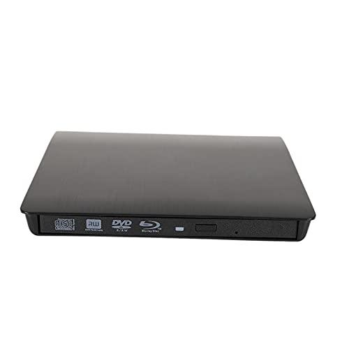 Unidad de CD DVD externa USB 3.0 Premium DVD / CD-ROM RW Estuche Reproductor de DVD Caja de la unidad Unidad de disco duro portátil Reproductor óptico Lector de unidad para computadora portátil