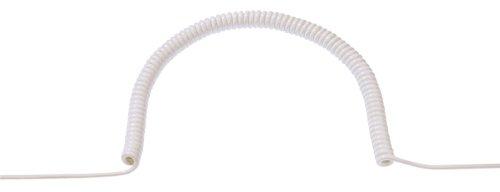 Bachmann - Cable rizado pvc 3g1,50mm2 500 blanco