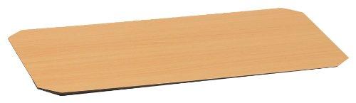 ルミナス ポール径25mm用パーツ シート リバーシブルウッドシート (幅61×奥行46cm棚用) ナチュラル×ダークブラウン MS6045-NB