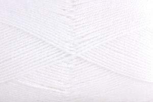 Gründl Baby Uni Wolle, 70 % Polyacryl 30 % Polyamid, 10er pack, weiß, 35 x 32 x 8 cm