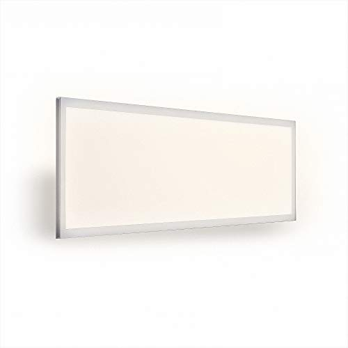 Mextronic Lámpara de techo LED, panel de 120 x 30, 40 W, 5350 lm, 840, blanco neutro, 1 – 10 V, Dali regulable