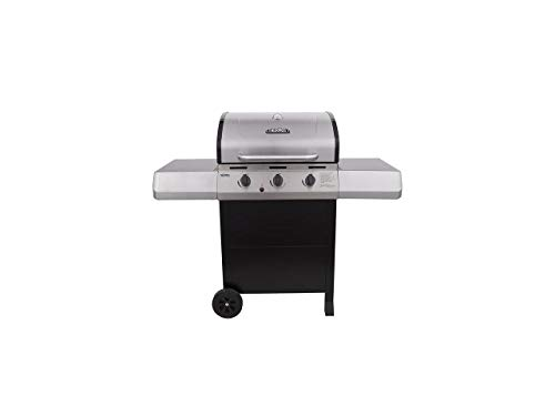 Char-Broil 461375519 3-Burner Propane Gas Grill, Silver