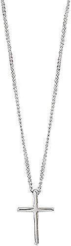 Yiffshunl Collar Simple Colgante Cruz Collar para Mujer Collar de Cadena de Clavícula Corta con Temperamento Regalo Collar Regalo