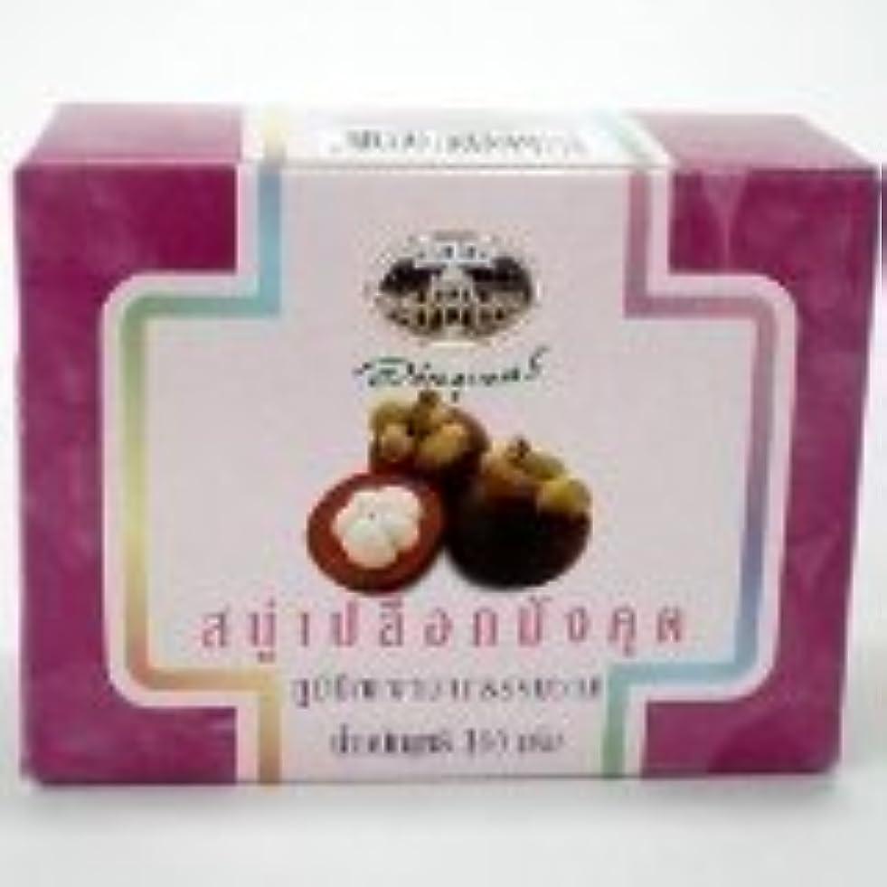 アジアコンデンサー復活する新しいabhabibhubejhr Mangosteen Peel Soap 100?g