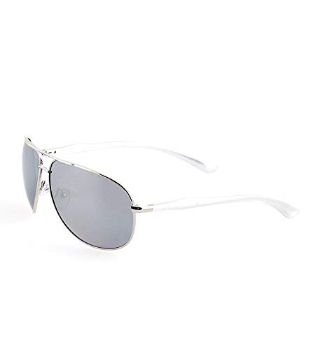 Guy Laroche GL-36134-102 Gafas de sol, Plata, 68 para Hombre