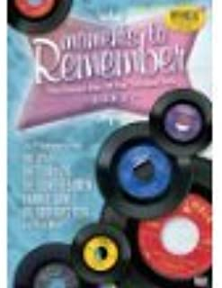 Moments to Remember The Golden Hits of the 50s and 60s Live (DVD - 2006)