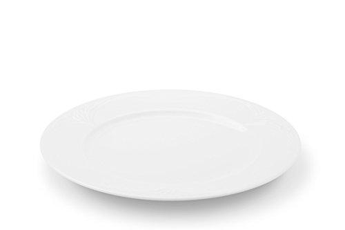 Friesland Porzellan Frise Assiette de Petit déjeuner Bel Air 21,5 cm Blanc