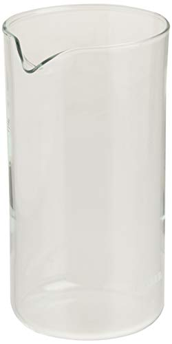 BonJour Coffee Glass French Press Universal Carafe Replacement, 12.7 Ounce, Clear