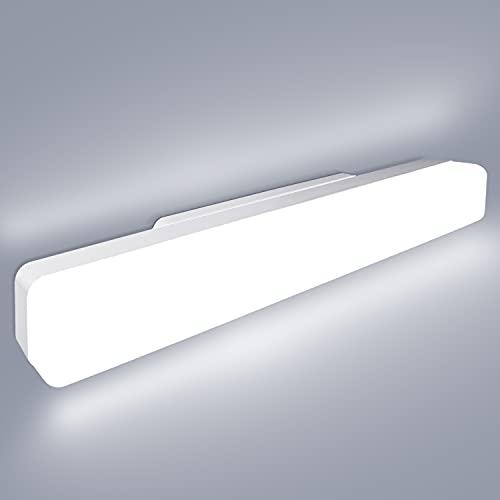 Dehobo Lámpara de Techo LED 18W Lámpara de Techo Luz Blanca 6500K, Ceiling Light Moderna LED Plafón 1620LM Iluminación de Techo para Oficina Cocina Dormitorio Pasillo Centro Comercial 40*5*4cm
