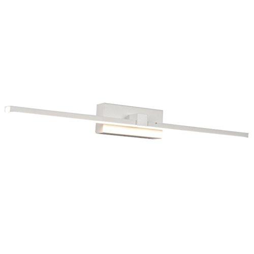 Lámpara Las luces de espejo decorativas del LED, luces de gabinete de cuarto de baño del maquillaje encienden Luces de baño (Color : Warm light)