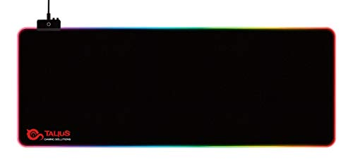 Talius Alfombrilla Gaming Tatami XXL retroiluminada RGB