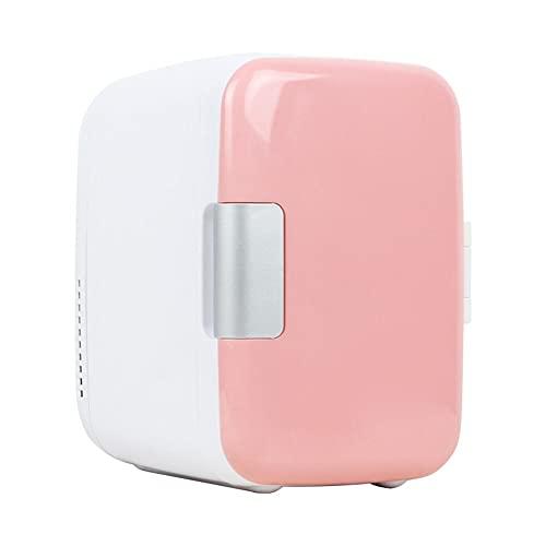 LIXUDECO mini nevera Congelador de automóviles de uso múltiple 4L mini refrigerador Refrigerador de doble uso del coche Frigorífico para automóviles Home 12V Calentador de refrigerador Refrigerador de