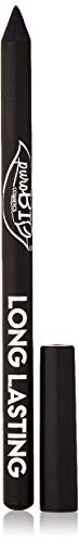 PuroBIO Certified ORGANIC High-pigmented and Long-Lasting Extra Black Eyeliner. Made with Coconut, Jojoba, Avocado, Baobab Oil, Vitamin E. ORGANIC.VEGAN. CRUELTY-FREE.NICKEL TESTED, MADE IN ITALY