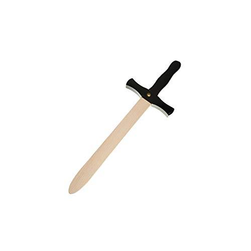 Juguetutto - Spada di legno - Nero. Giocattolo in legno