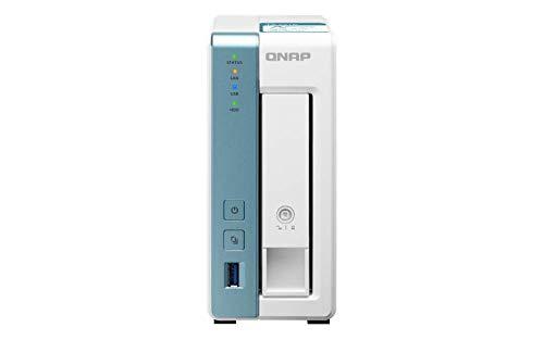 QNAP TS-131K server NAS e di archiviazione Alpine AL-214 Collegamento ethernet LAN Tower Bianco