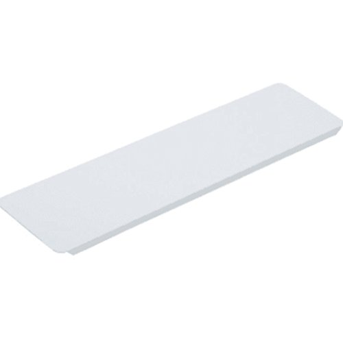 hd 3-5/8W x 13-3/8' Replacement Medicine Cabinet White Metal Shelf Package of 12