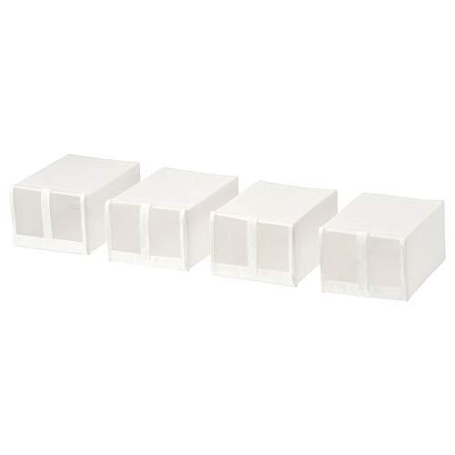 IKEA SKUBB zapatero blanco