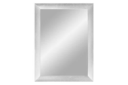 specchio da parete 60x120 ByMoris Mir Cornice a specchio in alluminio Criss Cross 60 x 120 cm specchio da parete con cornice in MDF