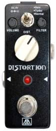 Tom'sLine - Procesador de efectos de ingeniería BLACK TEETH ABT-5, pedal de distorsión (negro claro) (negro claro)