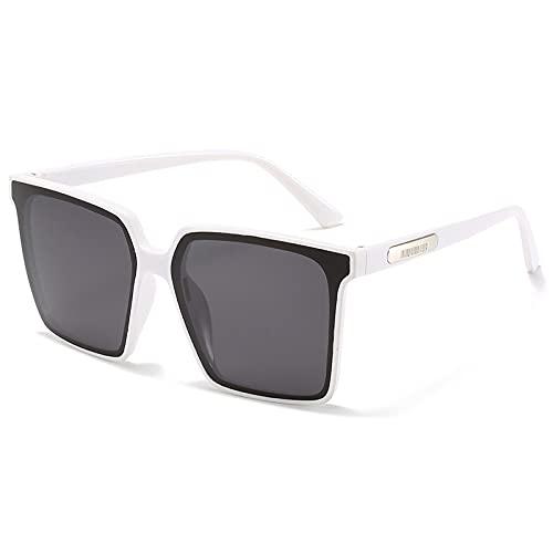 Sunglasses For Women Men Vintage Big Frame Sun Glasses Men Women Shades(Exquisite Packaging Box)